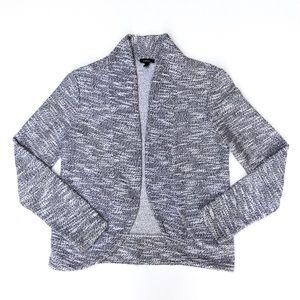 Express Grey  Knitted Open Sweater Blazer XS